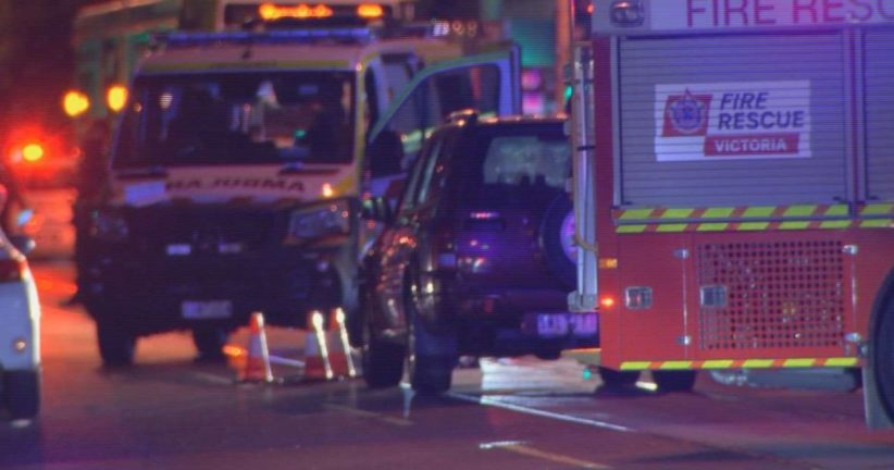 Melbourne Melville Road car accident Woman killed at the scene
