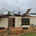 Defense forces are involved in rescue operations in the Northampton area affected by Cyclone in Australia. 1