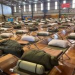 Defense forces are involved in rescue operations in the Northampton area affected by Cyclone in Australia. 2