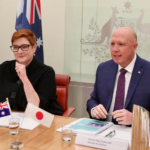 Japan has said it will support Australia in speaking out against China for violating international trade agreements