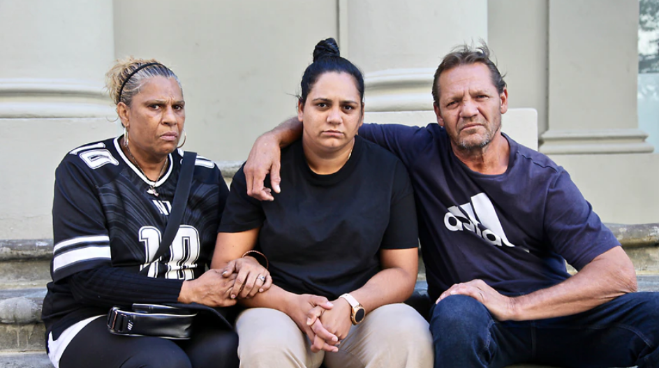 Indigenous woman's death trial in Australia in 2019. CCTV footage of police assault in court recorded as evidence