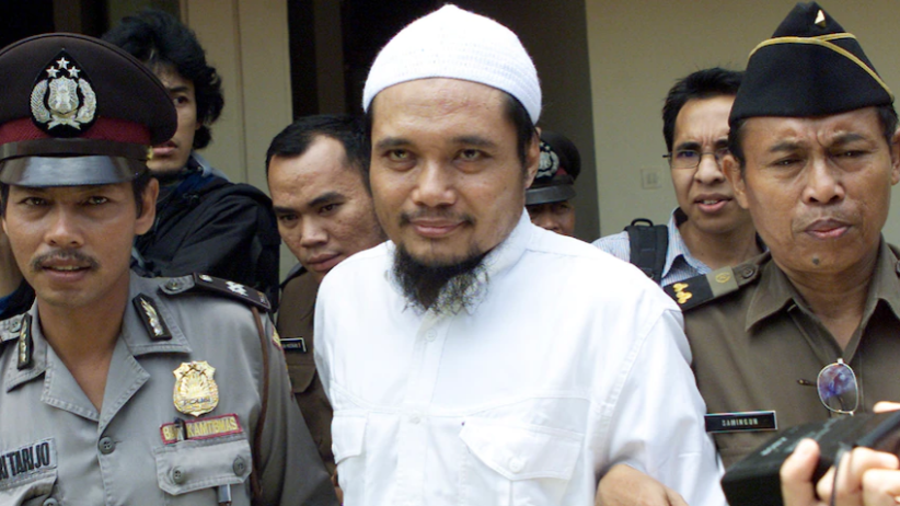 Leading member of the Jemaah Islamiyah organization wanted in connection with the Bali bombing. Arrested by Indonesian authorities
