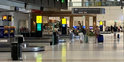 Corona infection confirmed for person arriving in Queensland without proper permission. Parts of Brisbane airport closed