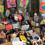 The Queensland Teachers 'Association is considering participating in the students' struggle against climate change