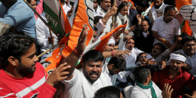 Union minister's son arrested in India for killing 4 farmers